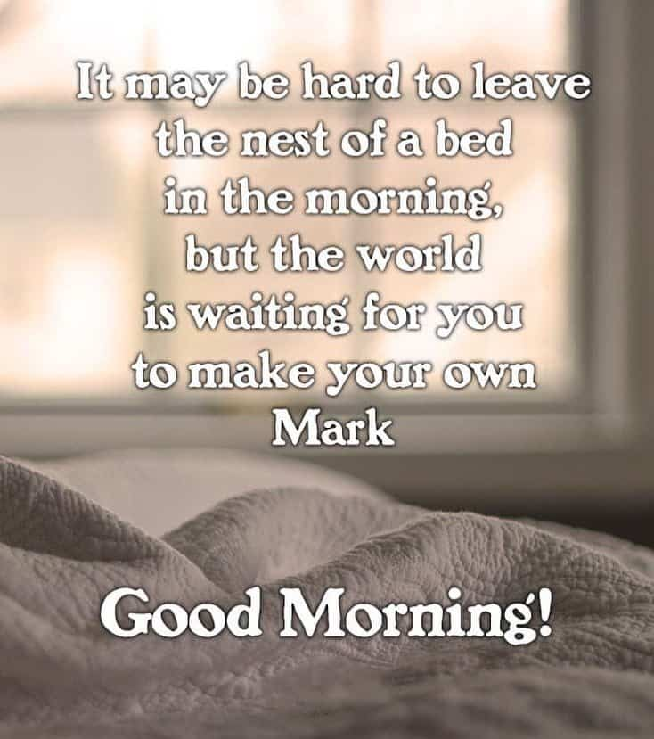 35 Inspirational Good Morning Message with Beautiful Images 35