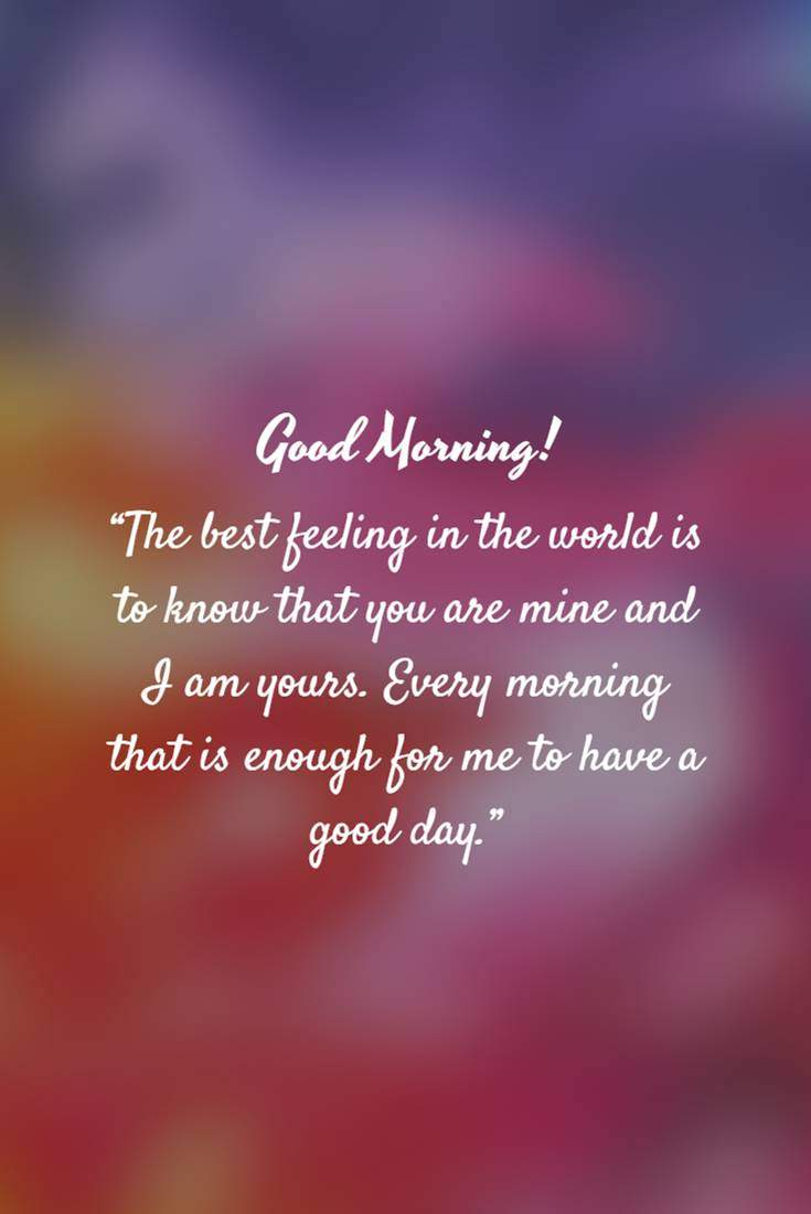 28 Good Morning Quotes and Wishes with Beautiful Images 12
