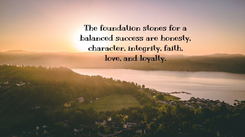 Motivational quotes about honesty and life sayings