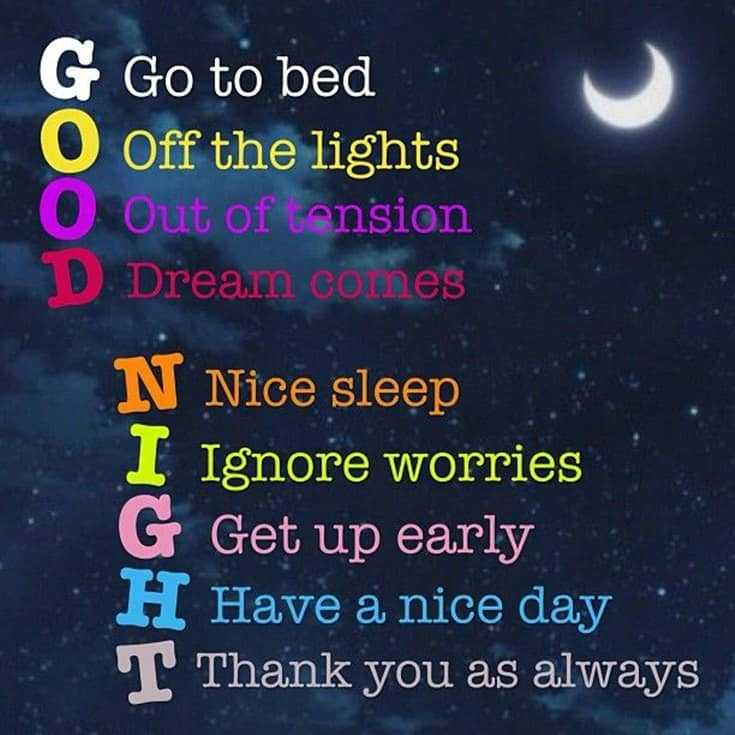 365 Good Night Quotes and Good Night Images 66