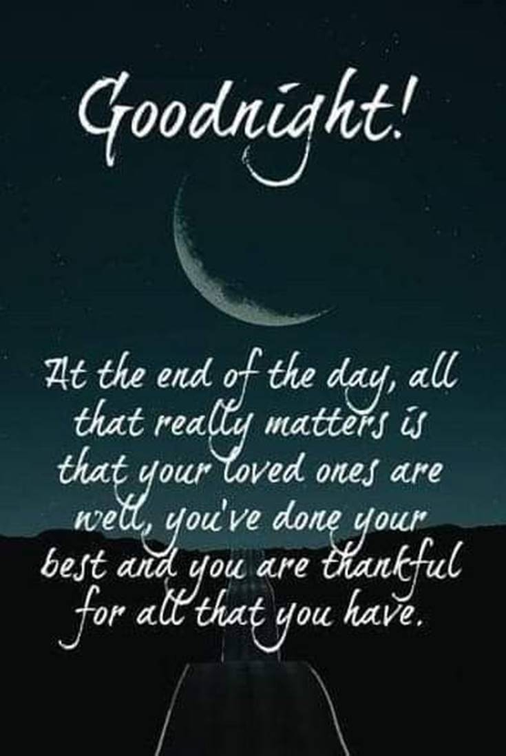 28 Amazing Good Night Quotes and Wishes with Beautiful Images 1