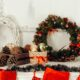 Best weaths images pine cones and christmas wreaths