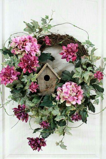 wreaths home depot