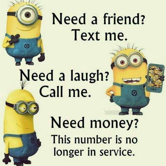 40 Funny Jokes Minions Quotes With Images Funny Text Messages 5