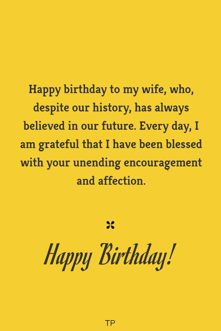 birthday wishes for your wife cutest birthday words