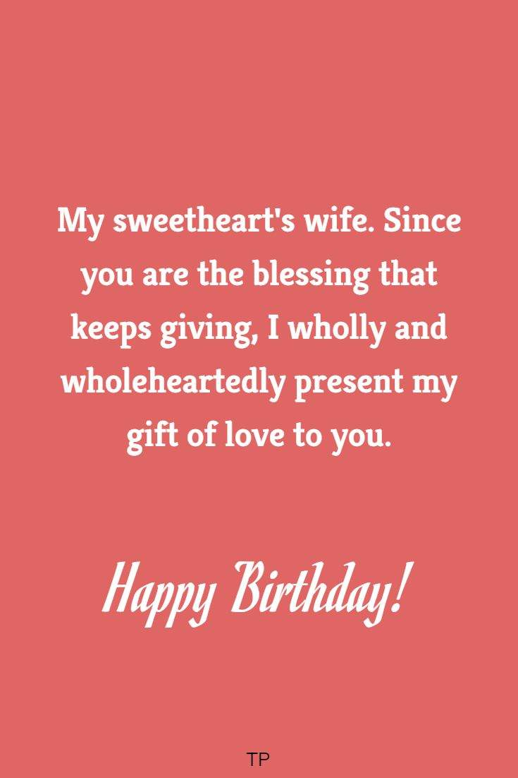 romantic birthday wishes for your wife perfect quotes for her