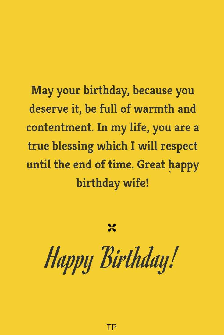 sweet birthday wishes for your wife cutest birthday quotes words