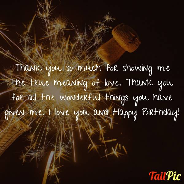 Romantic Happy Birthday Wishes, Messages