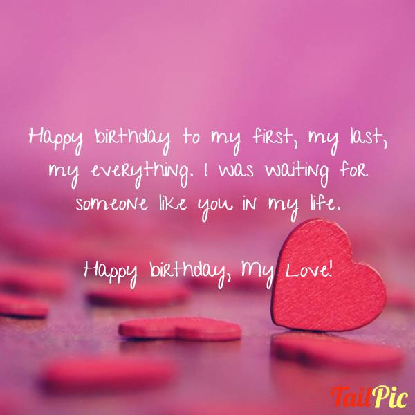 sweet happy birthday messages | emotional birthday wishes for lover