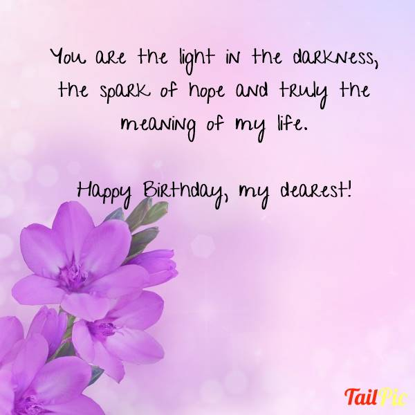Romantic Birthday Wishes For Her | Romantic Birthday Wishes And Messages – Wordings and Messages