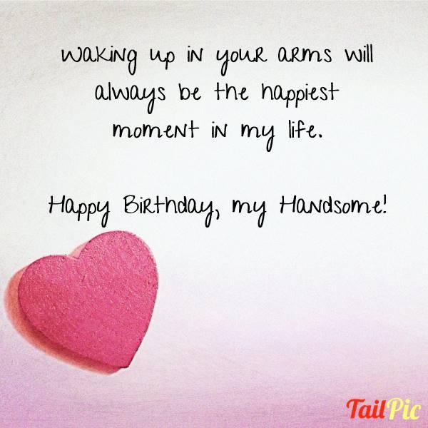 Romantic Birthday Messages for Him | Romantic Birthday Wishes For Husband - Romantic Husband Quote Birthday Wishes For Husband