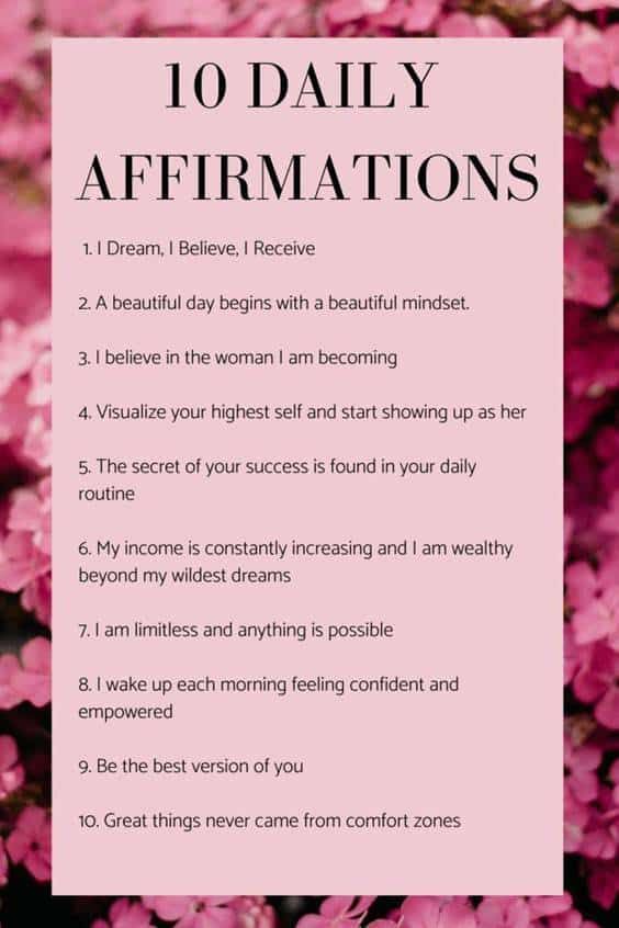 60 Positive Affirmations Quotes That Will Change Your Life | best affirmations, daily positive affirmations, positive statements