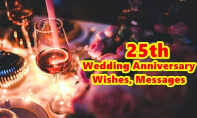 25th Wedding Anniversary Wishes Messages