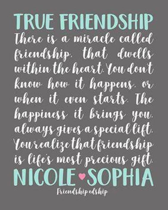 Nice Messages On Friendship