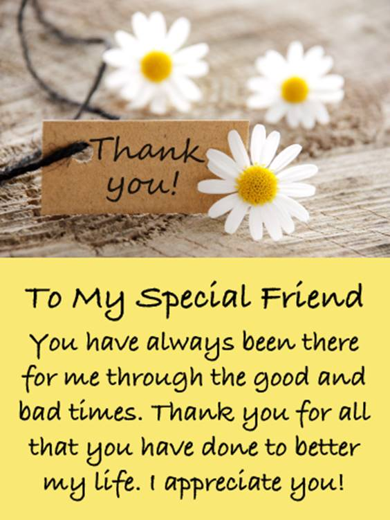 Message For Special Friend