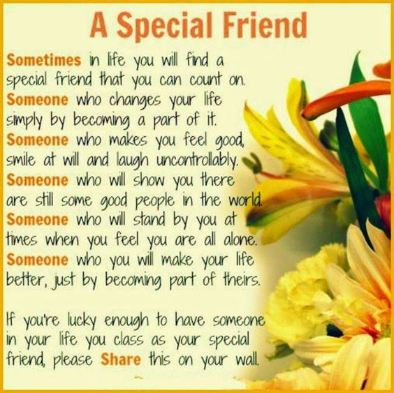 Special Msg For Friend