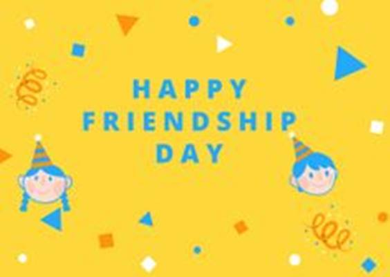Date Of Happy Friendship Day