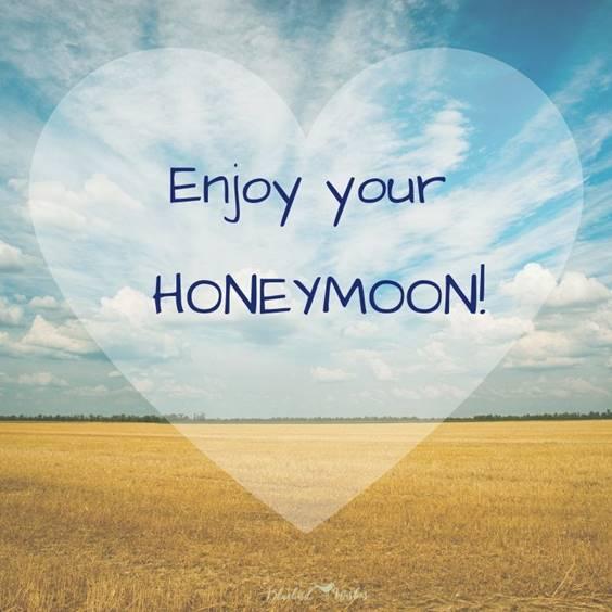 Wishes For Happy Honeymoon