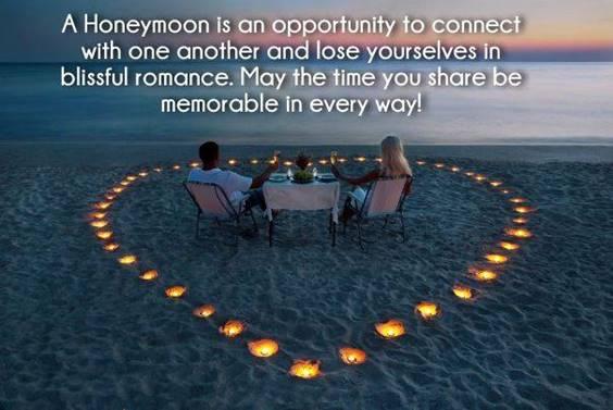 Wishes For Honeymoon Couple
