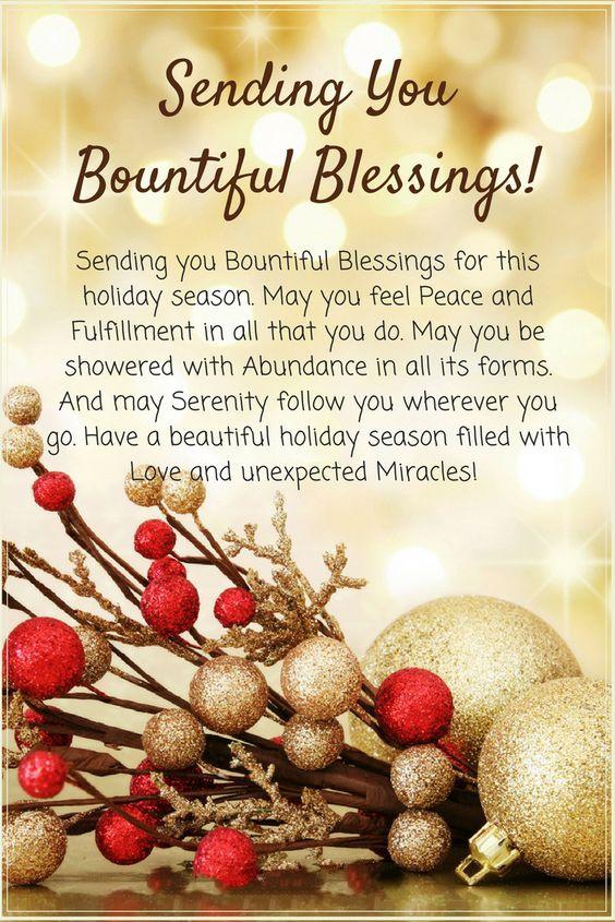 short holiday card greetings