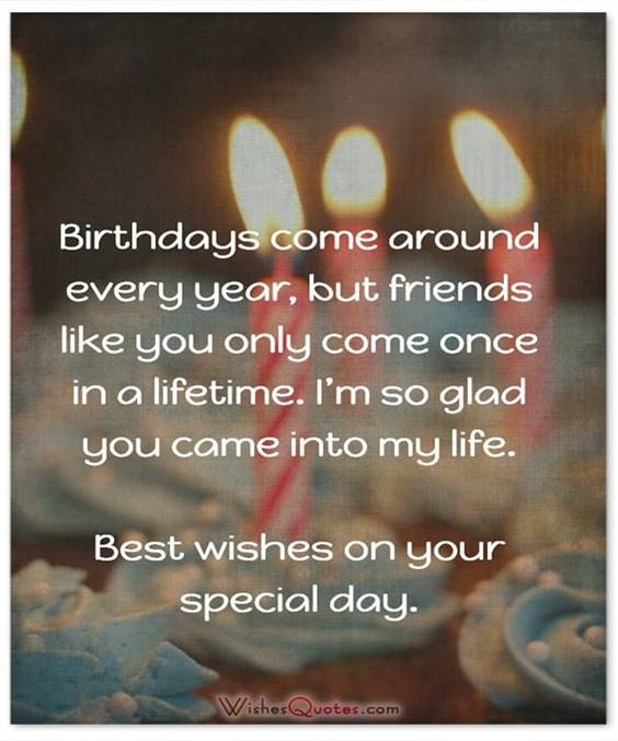 Birthday Message For A Friend