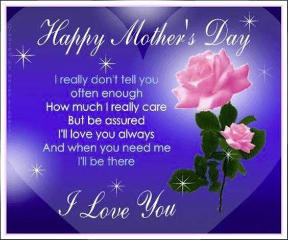 happy mothers day blessings