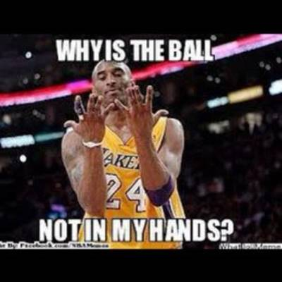 """Basketball Jokes """"Why is the ball not in my hands?"""""""
