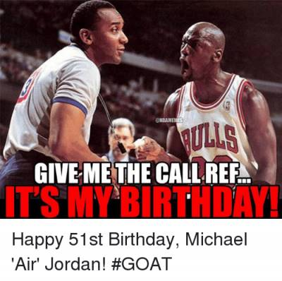 """What Is A Good Joke """"Give me the call ref… It's my birthday! """""""