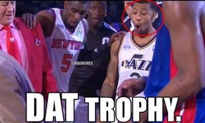 "Basketball Headers Memes ""Dat trophy."""