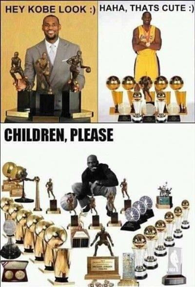 "Nba Memes funny ""Hey Kobe look haha, that's cute children, please"""