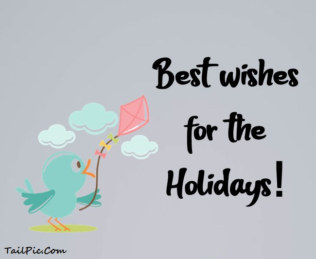 happy holidays messages