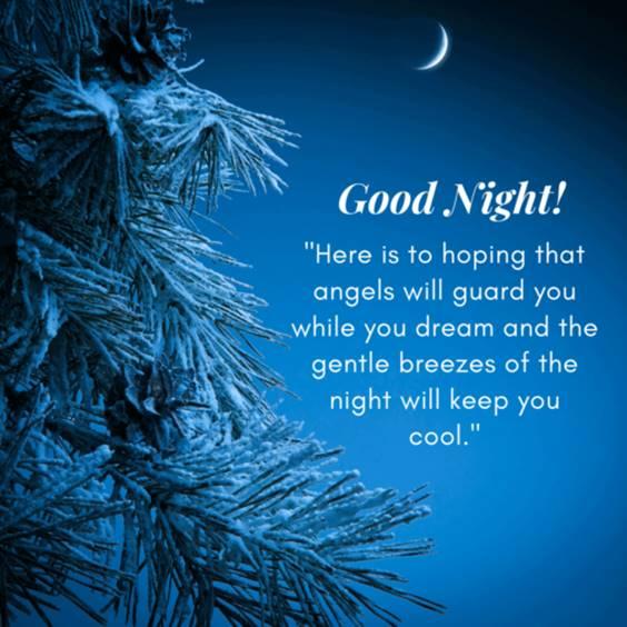 friend good night