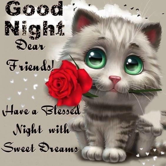 good night sleep well message