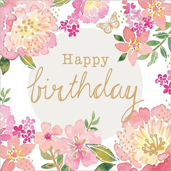 happy birthday my darling friend