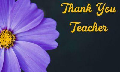 Best Thank You Teacher Messages Teacher Appreciation Thank You Notes