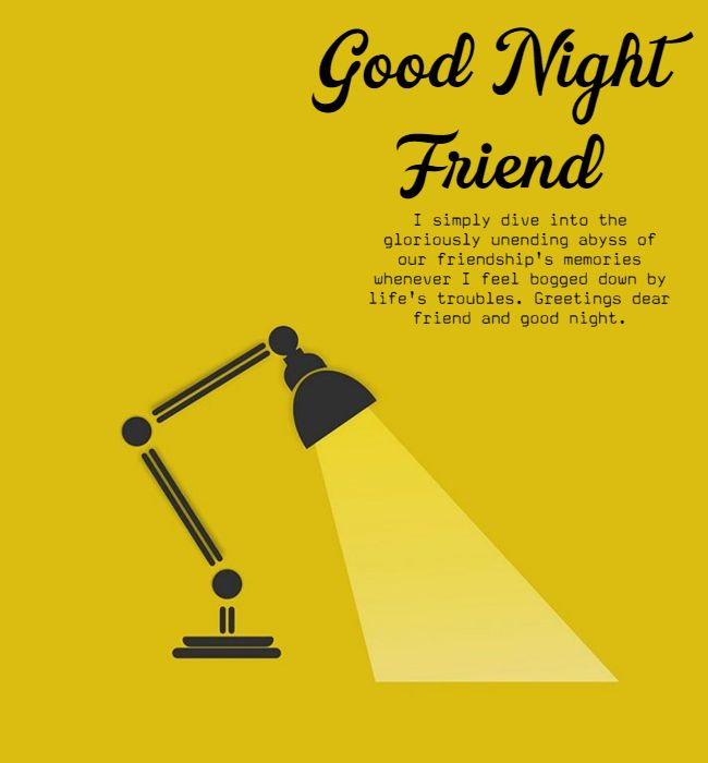 good night motivational quotes for friends