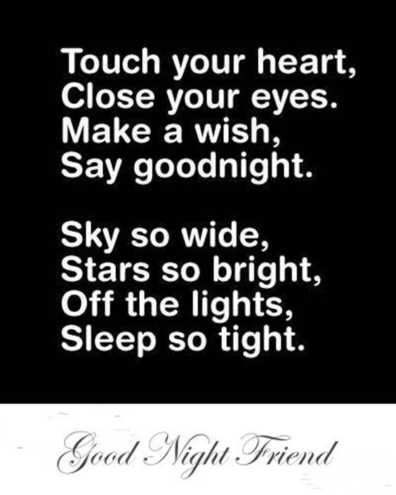 good night quotes with cute baby images