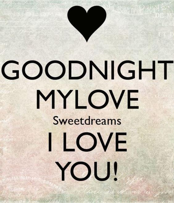 sweet dreams love