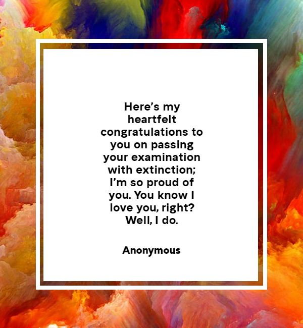 congratulations messages for achievement in exam
