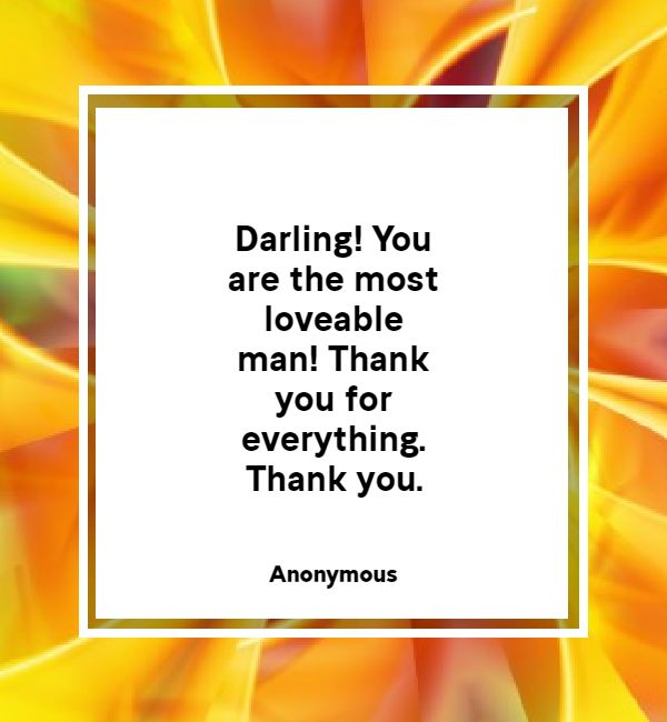 romantic thank you messages for husband