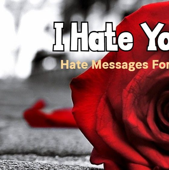 I Hate You Quotes for Ex Hate Emotional Messages